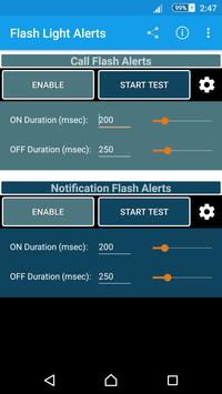 Flash Light Alerts poster