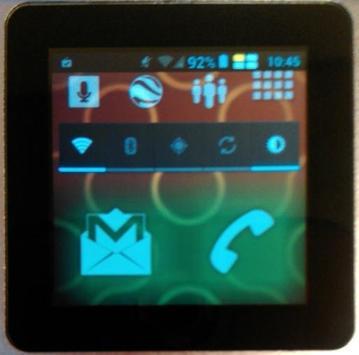 ZXWatch1 - Smartwatch LL Theme apk screenshot