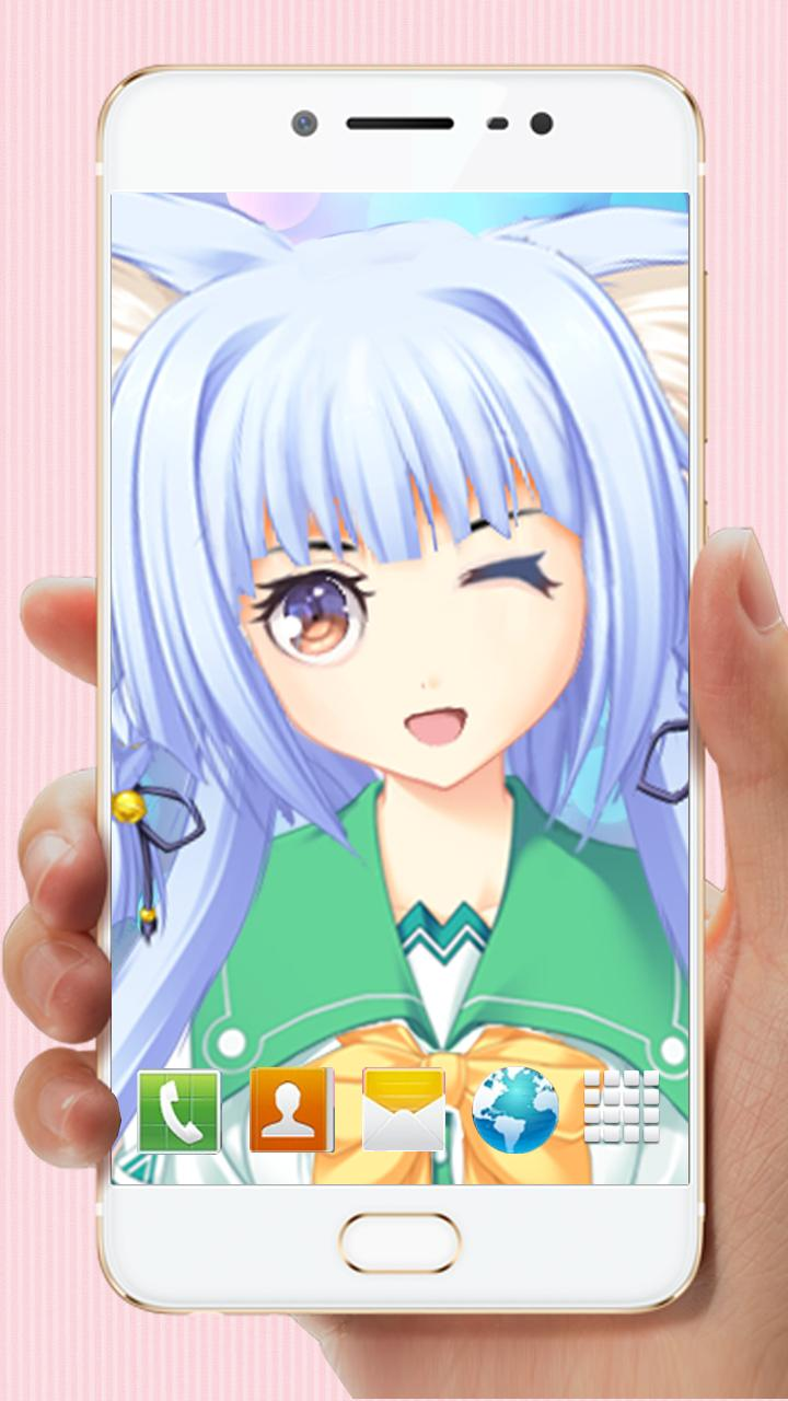 3d Kawaii Anime Live Wallpaper For Android Apk Download