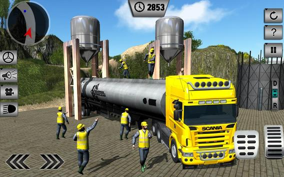 Oil Tanker Transporting Truck apk screenshot