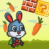 Fluffy Bunny Carrot Running icon