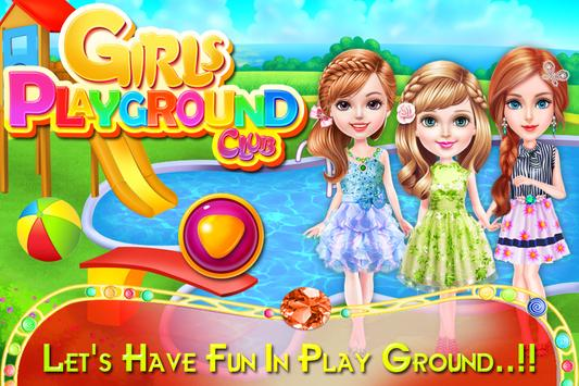 Girls Playground Club poster