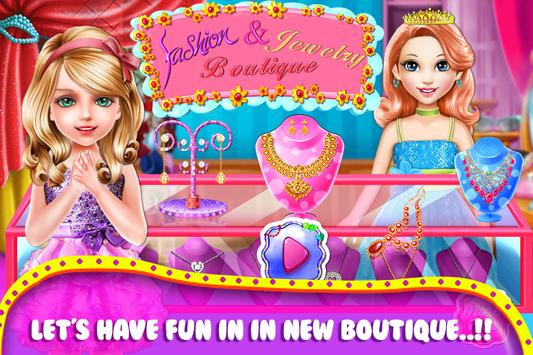 Fashion And Jewelry Boutique poster