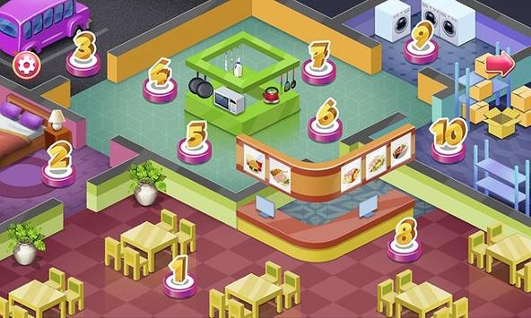 Restaurant Chef Cooking screenshot 9