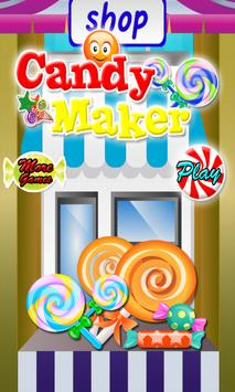 Candy maker cooking poster