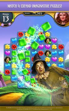 The Wizard of Oz Magic Match 3 captura de pantalla 13