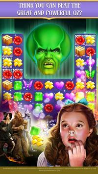 The Wizard of Oz Magic Match 3 captura de pantalla 1