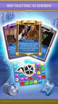 The Wizard of Oz Magic Match 3 captura de pantalla 2