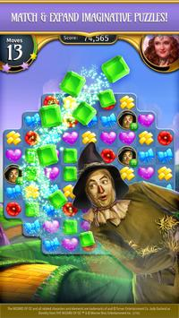 The Wizard of Oz Magic Match 3 captura de pantalla 3