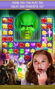 The Wizard of Oz Magic Match 3 captura de pantalla 6