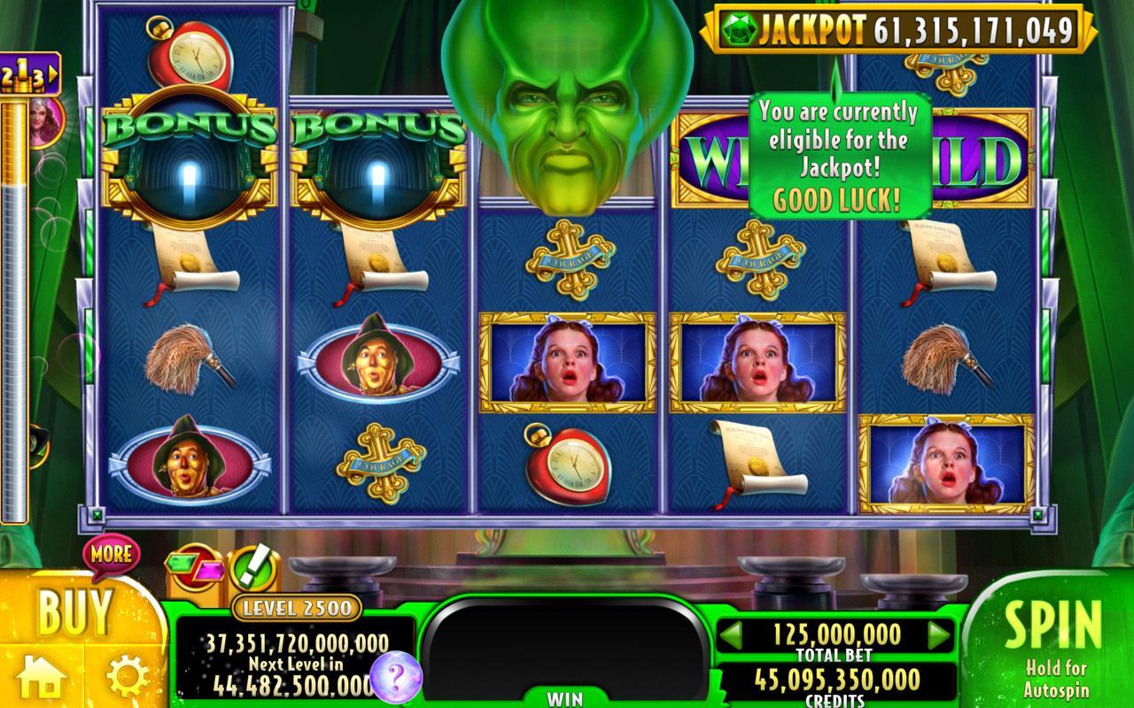 slot wizard of oz online