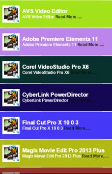 Best Video Editing Software poster