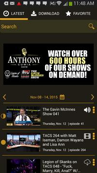 The Anthony Cumia Show poster