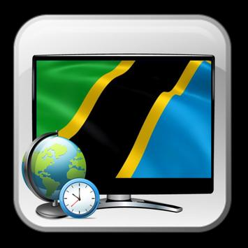 Timing list TV Tanzania free poster