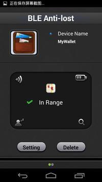 BLE Anti-lost-sp apk screenshot