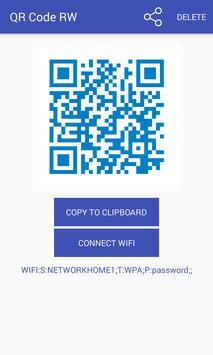 QR code RW Escáner captura de pantalla de la apk
