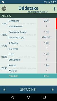 Oddstake - Daily betting tips with high odds poster