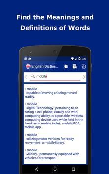 English Explanatory Dictionary apk screenshot