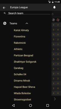 Scores - UEL - Europe Football League UEFA - Live screenshot 3
