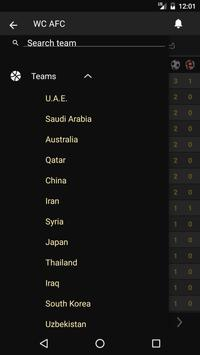 Scores - Asia World Cup Qualifiers - AFC Football apk screenshot