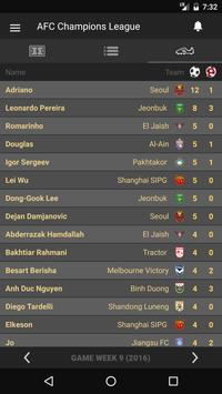 Scores - AFC Champions League apk screenshot