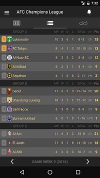 Scores - AFC Champions League screenshot 2