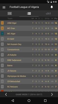 Scores - Ligue Professionnelle - Algeria Football screenshot 2