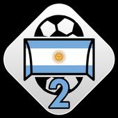 Scores - Primera B Nacional - Argentina Football icon