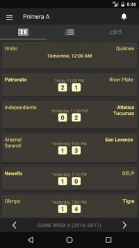 Scores - Primera B Nacional - Argentina Football poster