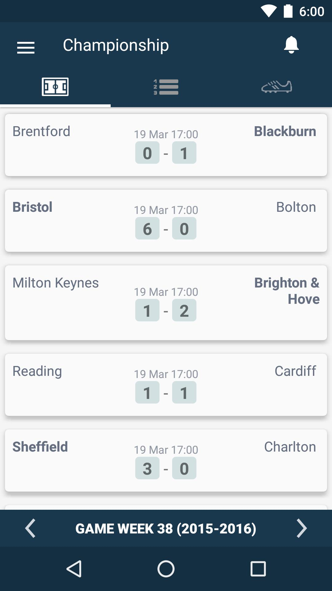 England Football League - EFL Championship for Android - APK