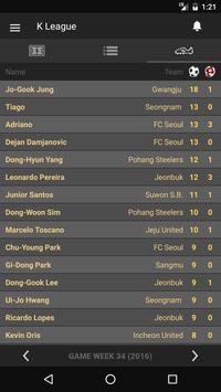 Scores - K League - South Korea Football League screenshot 2