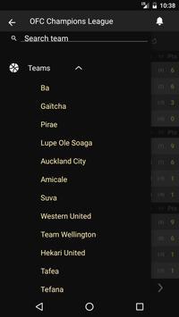 Scores - OFC Champions League apk screenshot