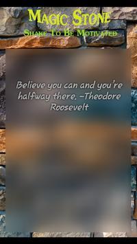 Shake Motivator - Magic Stone screenshot 3