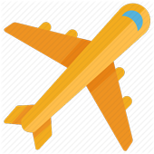 Airlines tickets & Booking hotels & Rental Cars icon