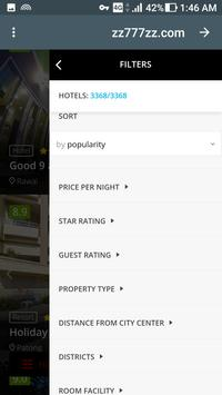 Airlines tickets & Booking hotels & Rental Cars apk screenshot