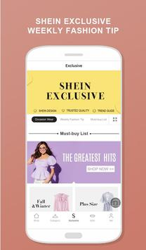 SHEIN-Fashion Shopping Online apk screenshot