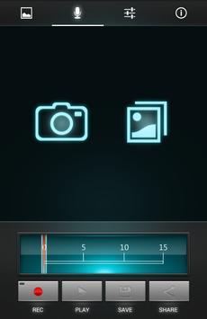 ZZ Gram - Voice your pics apk screenshot
