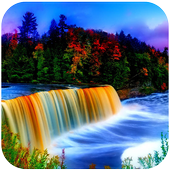 3D Waterfall icon