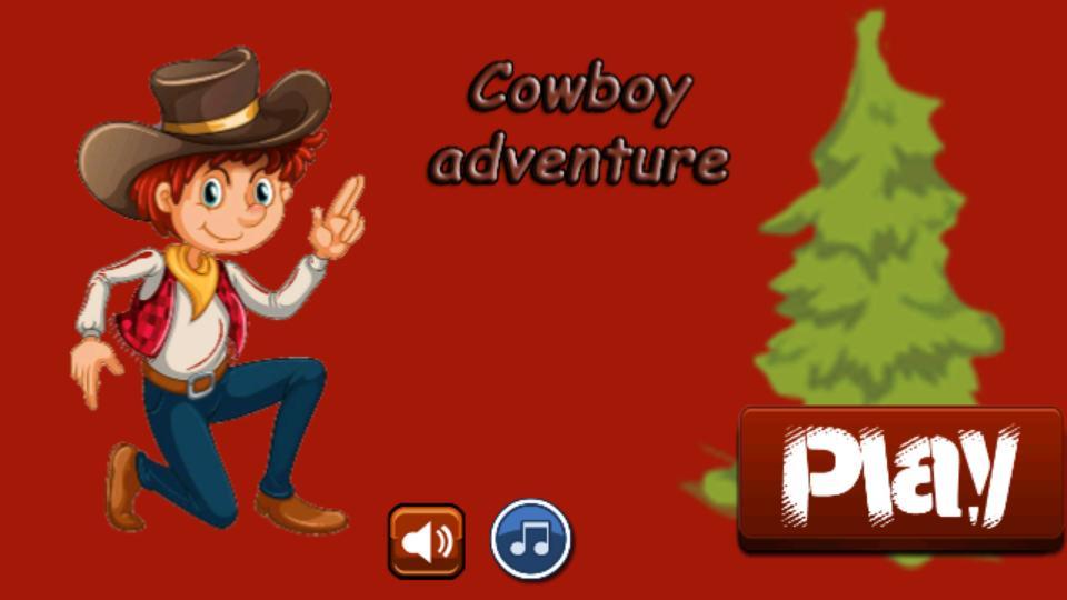 Adventure Cowboy poster