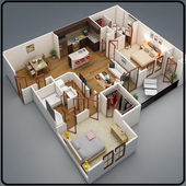 New Home layout Design icon