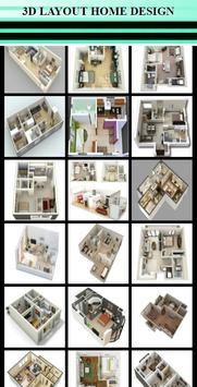 New Home layout Design poster