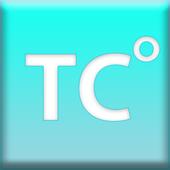 Convert Fahrenheit to Celsius icon