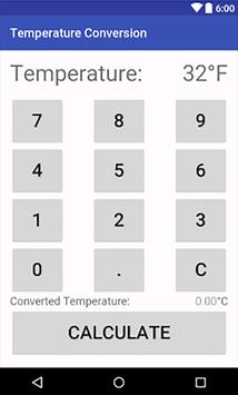 Convert Fahrenheit to Celsius screenshot 3