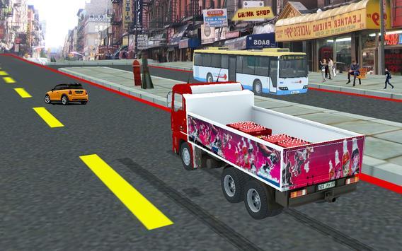 Cold Drinks Cargo Truck apk screenshot