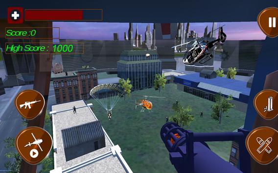 Helicopter City War Offline screenshot 4