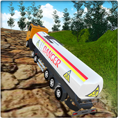 PK Cargo Truck Driver : Off-road Oil Tanker Games icon