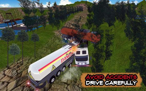 PK Cargo Truck Driver : Off-road Oil Tanker Games screenshot 1