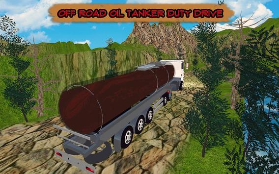 PK Cargo Truck Driver : Off-road Oil Tanker Games screenshot 3