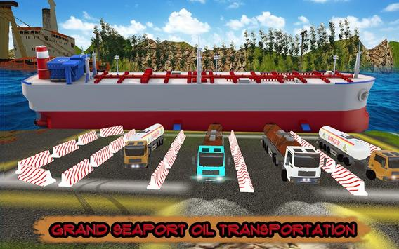 PK Cargo Truck Driver : Off-road Oil Tanker Games screenshot 4