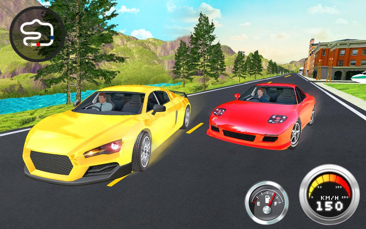 City Traffic Car Racing Car Drifting Games Free For Android Apk